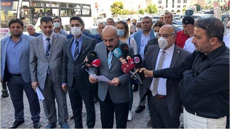 CHP Şanlıurfa İl Başkanlığın'dan 3600 Ek Göstergeyle İlgili Basın Açıklaması