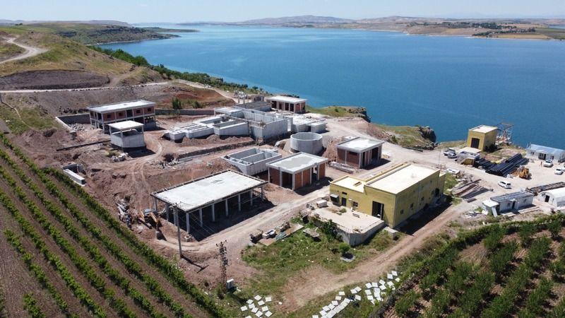 Hilvan İçme Suyu inşaatı tam hız devam ediyor