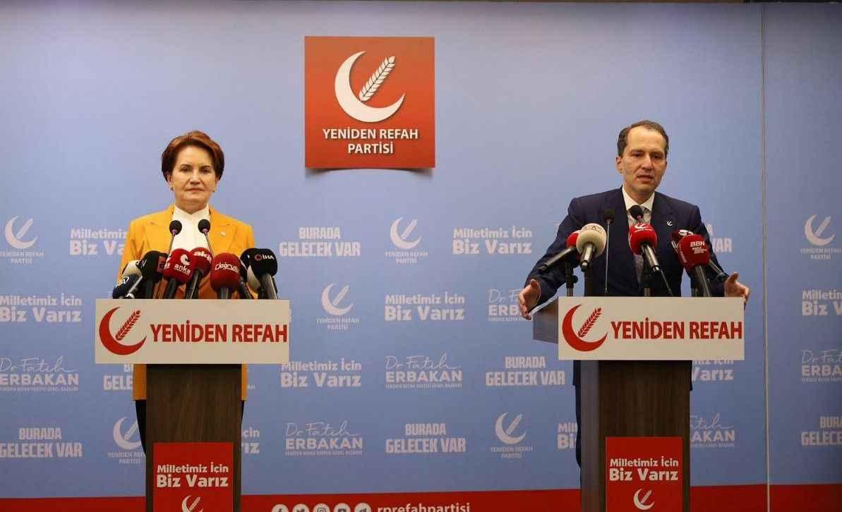 Meral Akşener'den Yeniden Refah lideri Fatih Erbakan'a ziyaret! - RHA Ajans