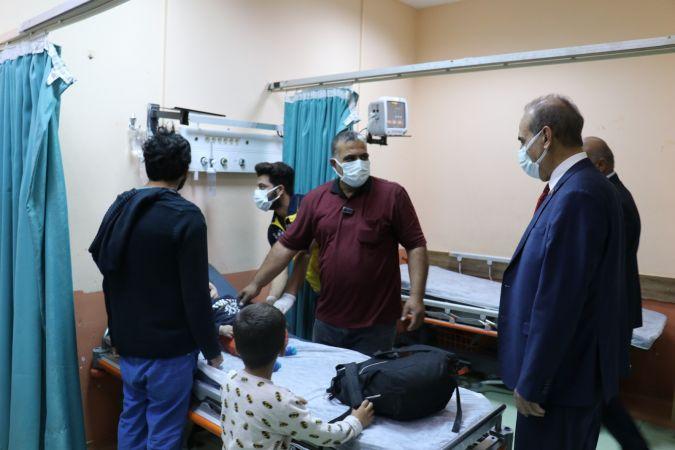 Başkan Yalçınkaya,Hastanede devam eden çalışmaları inceledi