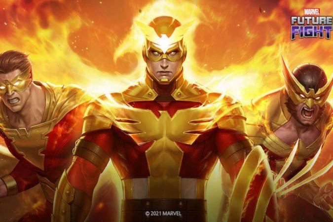 Phoenix gücü, Marvel Future Fight'ın en son oyun içi güncellemesiyle geri dönüyor