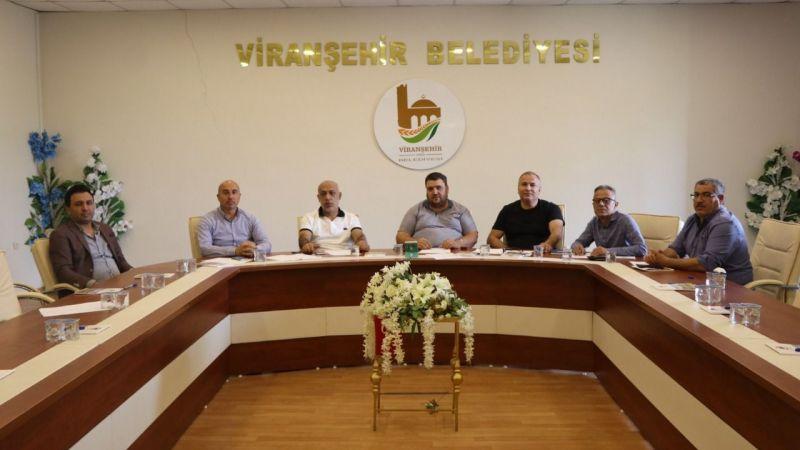 Viranşehir Belediyespor'da İlk Yönetim Kurulu Toplantısı