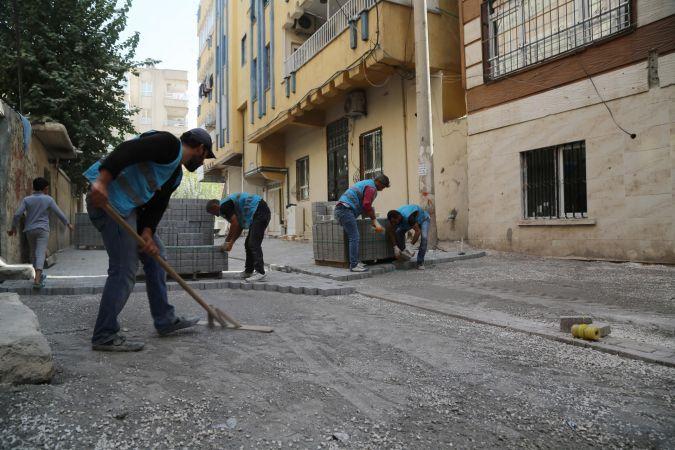 Haliliye'de Üst Yapı Çalışmaları Devam Ediyor