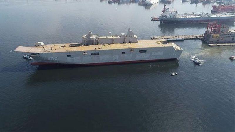 En Büyük Savaş Gemimiz 'TCG Anadolu' 2020 Sonunda Denizde