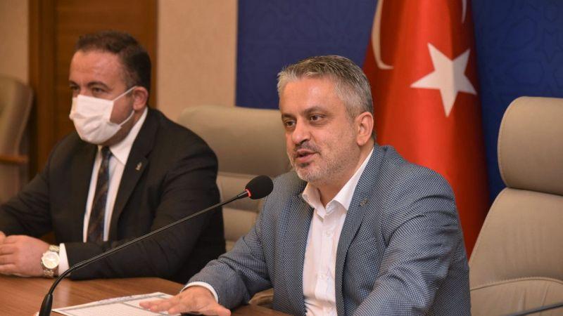 AK Parti Bursa İl Başkanı Ayhan Salman'dan üye kampanyasına ilişkin açıklama