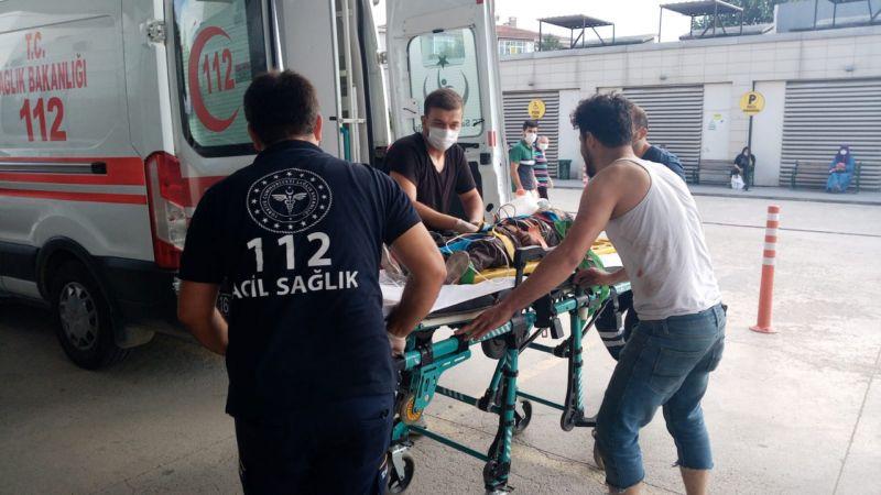 Bursa'da çatıdan düşen 2 kardeş yaralandı