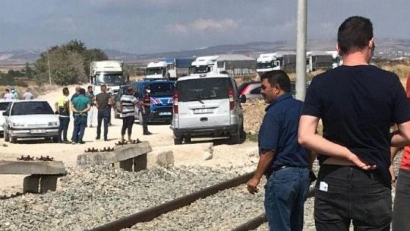 Balıkesir'de lokomotifin çarptığı kişi öldü.