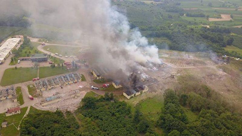 Havai fişek fabrikasındaki patlamanın detayları belli oldu