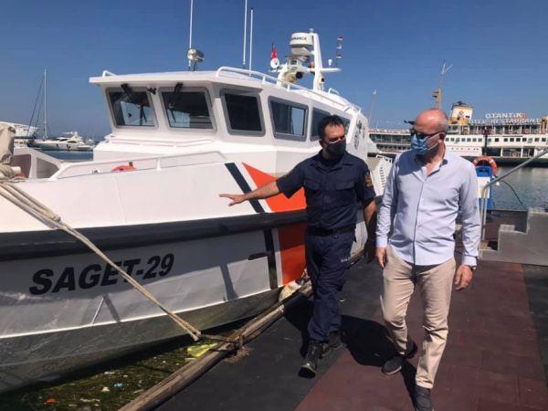 Sahil güvenlik unsurlarına 2 yeni bot tahsis edildi