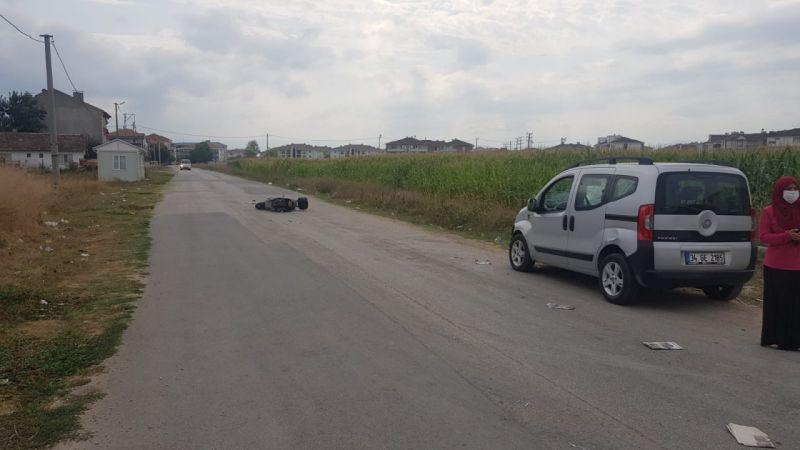 Bursa'da korkutan kaza