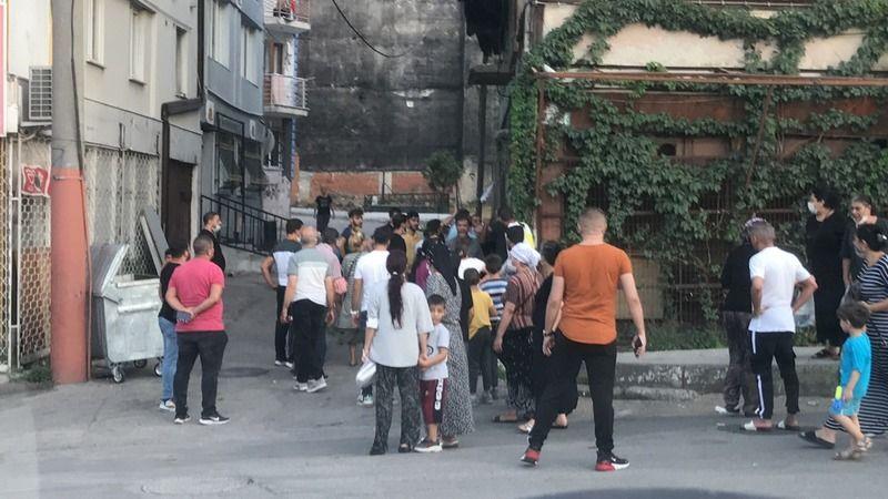 Bursa'da kavga sosyal mesafeyi yok saydı
