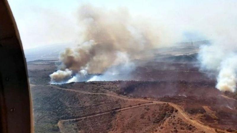 Gelibolu'da orman yangını! Müdahale sürüyor