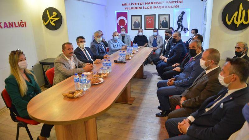 Başkan Oktay'dan ilçelere ziyaret