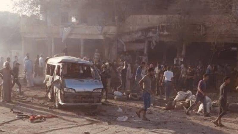 Suriye'de bomba yüklü araç patladı