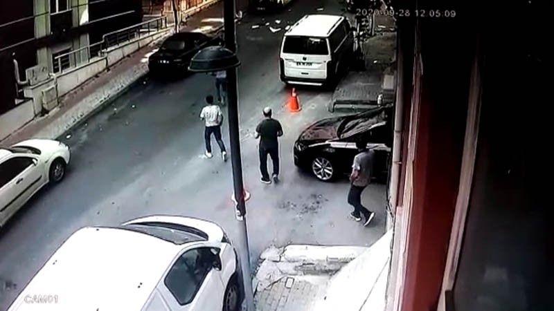 Şişli'de korkutan patlama