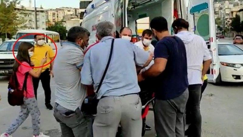 Bursa'da kaza yerinde garip olay