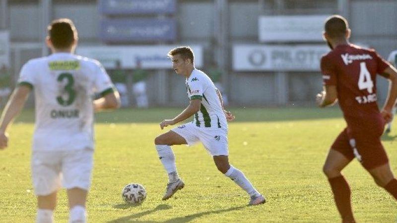 Bursaspor'dan galibiyet golü
