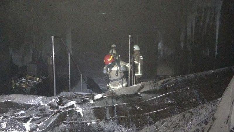 Bursa'da şimşekler yangına neden oldu
