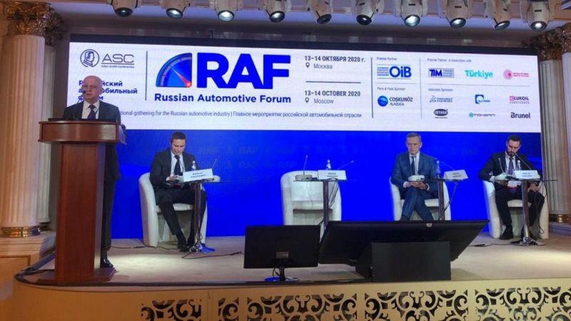 OİB'den Rusya'da Türk otomotiv sektörü tanıtımı yapıldı