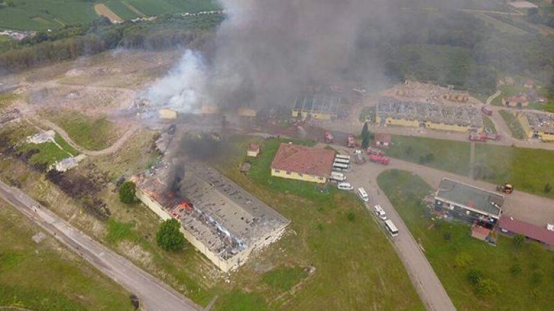 Sakarya'daki havai fişek fabrikasındaki patlamada gelişme