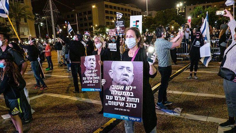 Netanyahu karşıtı gösteriler 18. haftasında