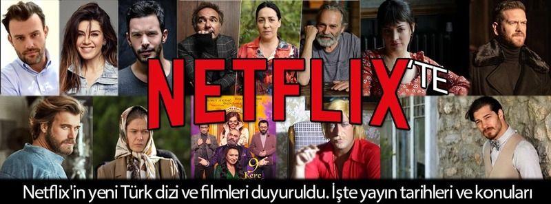 Netflix yeni projelerini açıkladı