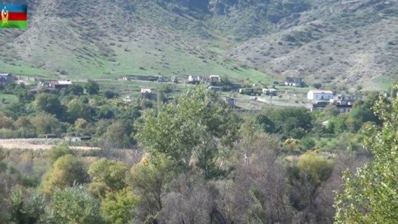 Azerbaycan işgalden kurtulan köylerin görüntülerini paylaştı