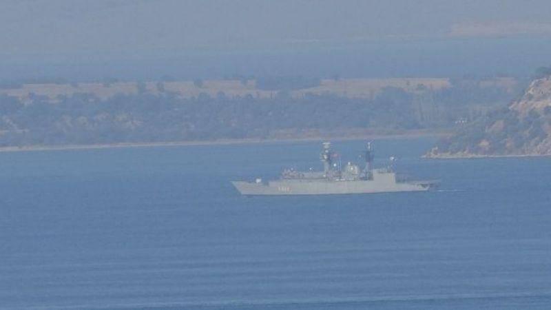 Romanya savaş gemisi boğazı geçti