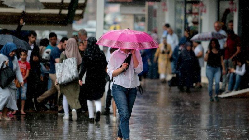 """Bursa""""ya yağmur uyarısı"""