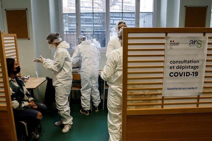 Fransa'da son 24 saatte koronavirüsden 313 kişi hayatını kaybetti