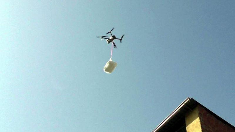 Drone ile pide servisi