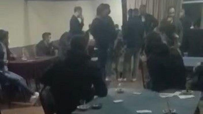 Bursa'da kısıtlama günü spor kulübü lakaline kumar baskını