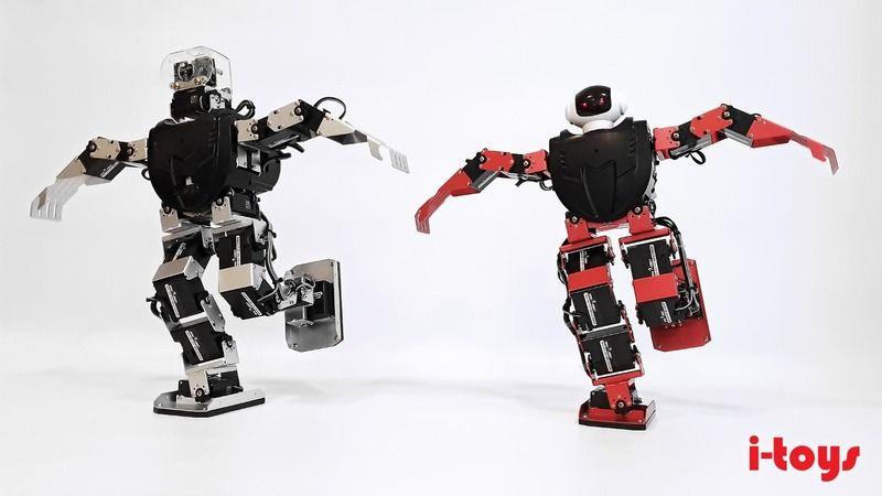 O robotlar zeybek oynuyor