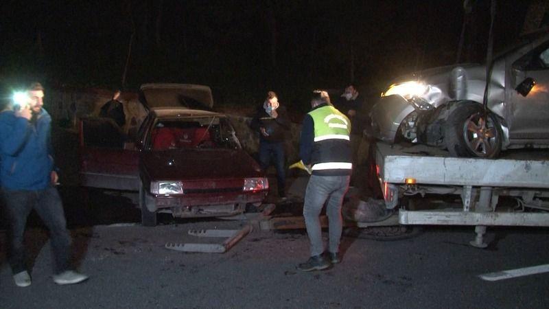İstanbul'da feci kaza: 3 yaralı
