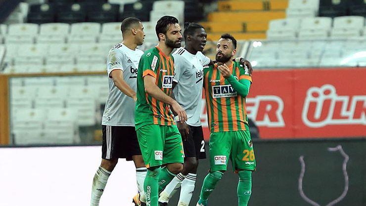 Alanyaspor'dan Beşiktaş maçı açıklaması!