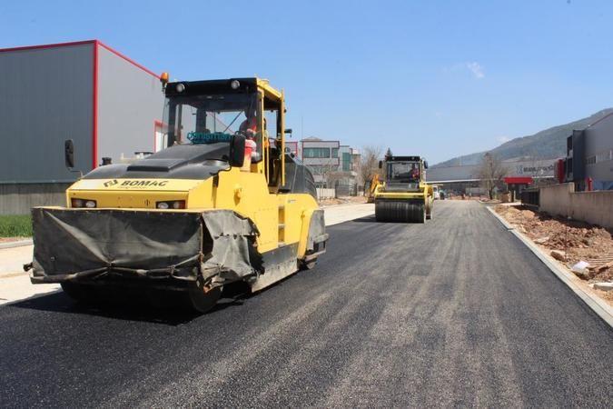 Bursa BOSAB'da asfalt