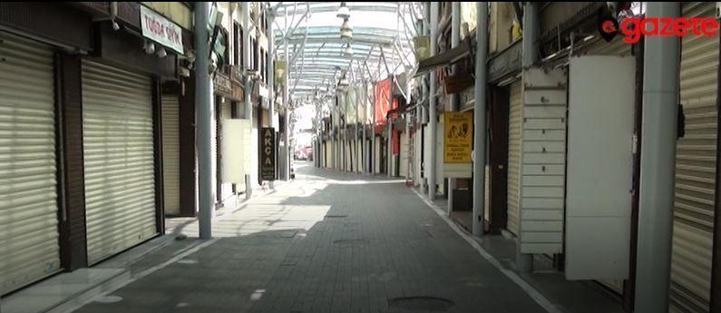Bursa sokakları sessizliğe büründü