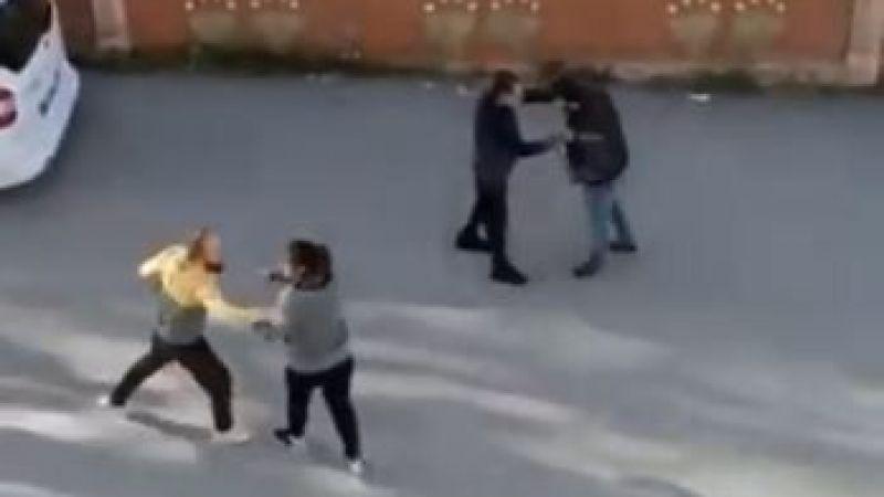 Antalya'da komşulardan taşlı sopalı kavga