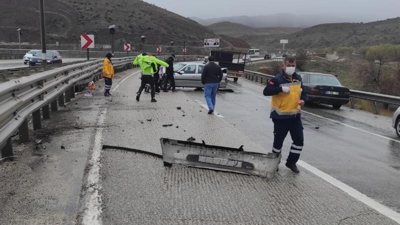 Kırıkkale'de kaza: 1 yaralı