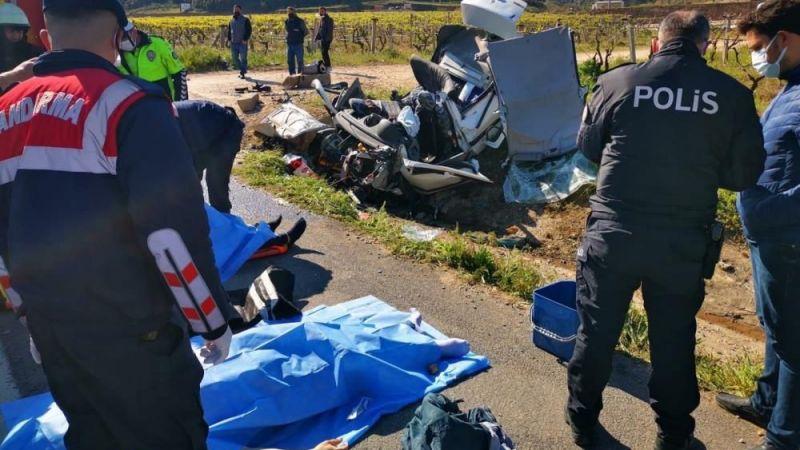 Manisa'da kaza: 3 kişi hayatını kaybetti