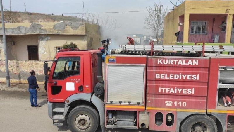 Siirt'te evde çıkan yangın korkuttu