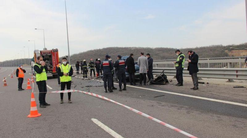 Kocaeli'nde kaza: Sürücü feci şekilde hayatını kaybetti