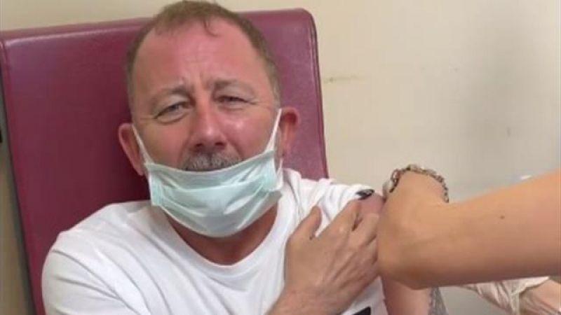 Sergen Yalçın'dan güldüren aşı tepkisi