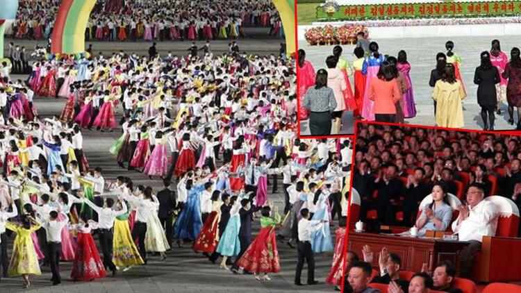 Kuzey Kore'de 'Güneşin Günü' kutlandı