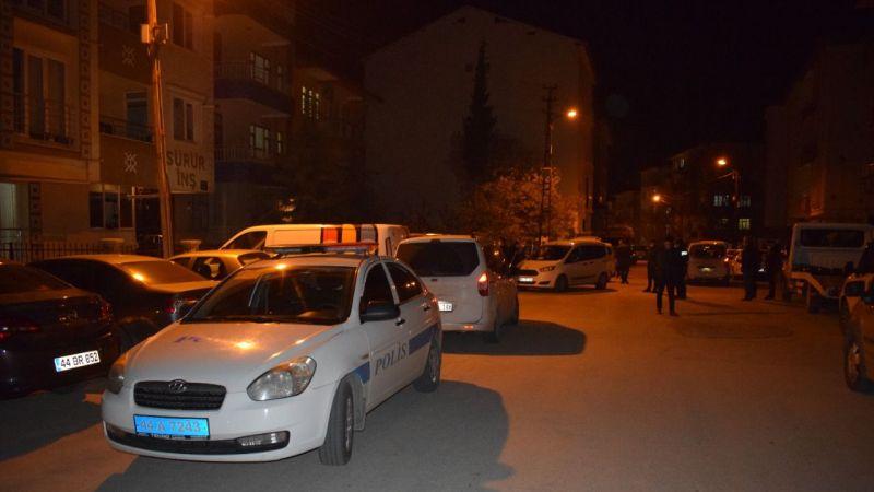 Malatya'da sokak ortasında silahlı saldırı: 1 yaralı