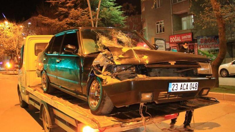 Elazığ'da kaza: 4 yaralı