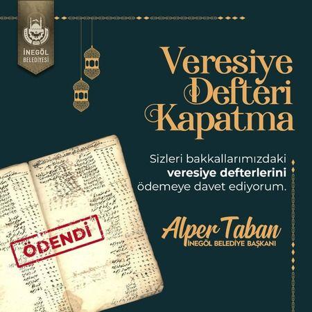 İnegöl Belediye Başkanı Alper Taban'dan anlamlı davranış