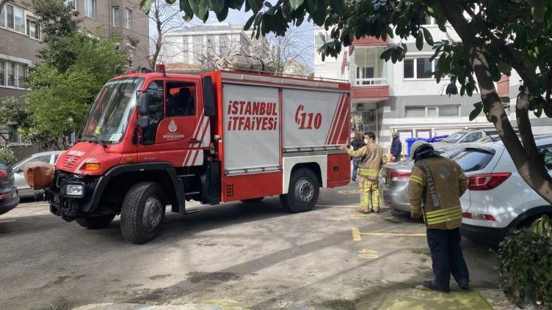 İstanbul'da duran araçların üstüne ağaç devrildi