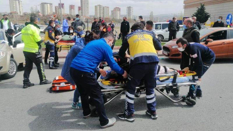 Kayseri'de kaza: 1'i ağır 5 yaralı