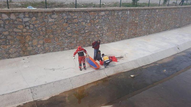 Muğla'da dereye düşen çocuk kurtarıldı